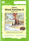 Fitzroy Word Families